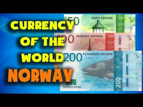 Currency Of The World - Norway. Norwegian Krone. Norwegian Banknotes And Norwegian Coins