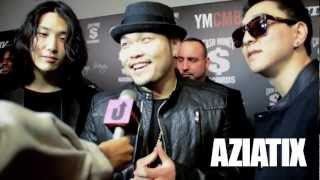 [AZIATIX] Aziatix at the 2013 YMCMB Pre-Grammy Party