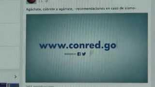 SE-CONRED promueve reducción de desastres en redes sociales