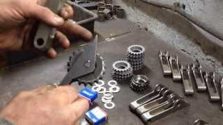видео Однорядная цепь на ВАЗ