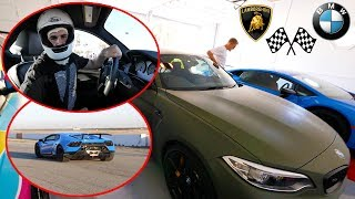RACING OUR CARS AT THE TRACK Lamborghini VS BMW We Raced Our Cars At The Track Lamborghini Performante Vs BMW  SUBSCRIBE FOR MORE VIDEOS HERE  httpbitlySubscribe2Christian GET MY ...