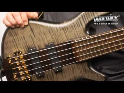 The Warwick Streamer Stage I 5-String - Product Demo with Andy Irvine