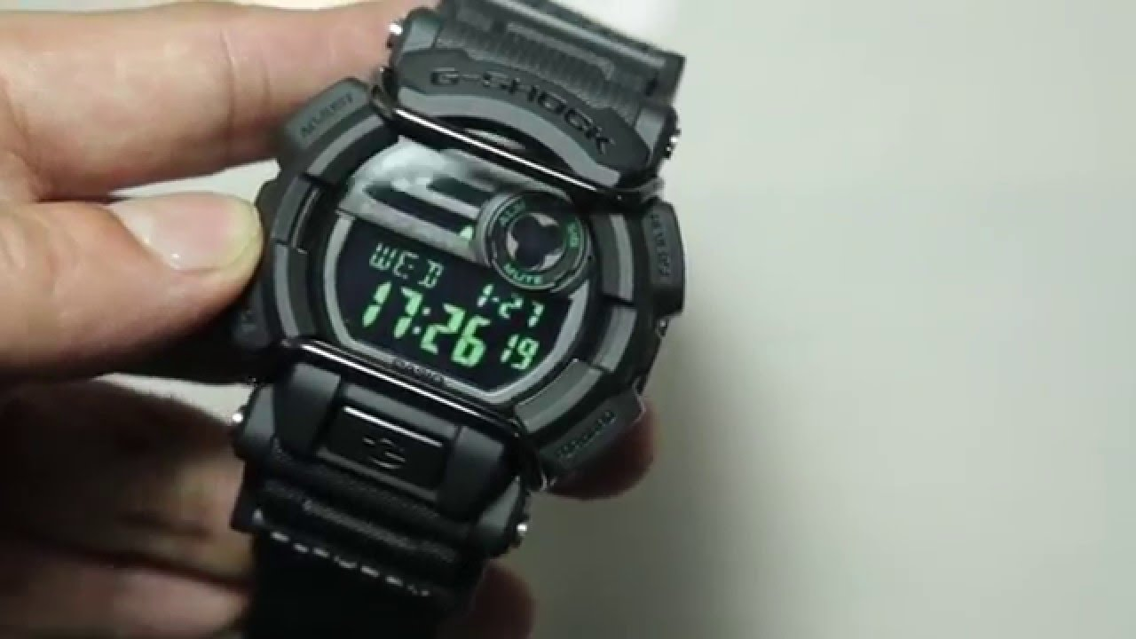 3b64210be Casio G-shock GD-400MB-1 - YouTube