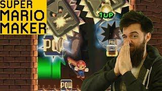 """The Mario Maker """"Please No Puzzles"""" Run // SUPER EXPERT NO SKIP [#38]"""