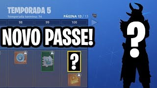 KNOWING the BATTLE PASS OF SEASON 5-Fortnite Battle Royale