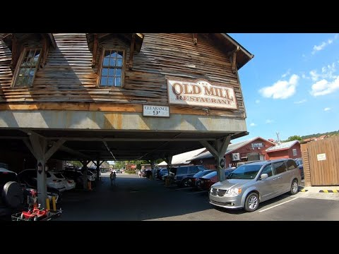 Eating Lunch At The Old Mill Restaurant Pigeon Forge Tn.