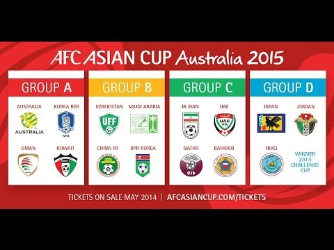 Final Draw Highlights: AFC Asian Cup 2015