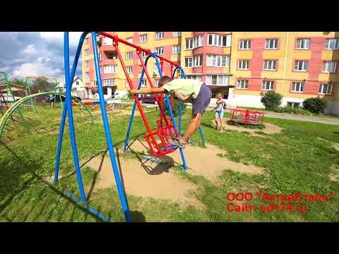 Новые детские площадки появились в поселках Люберециз YouTube · Длительность: 2 мин57 с