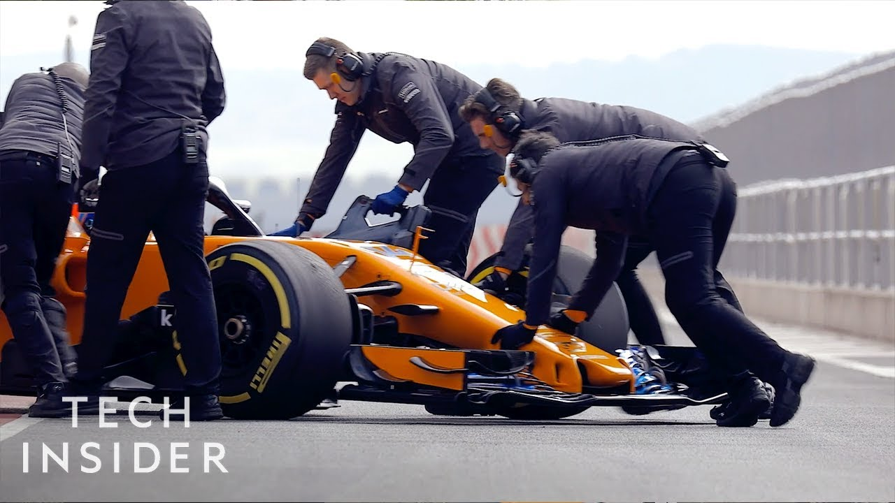 What Makes A Formula 1 Race Car So Fast