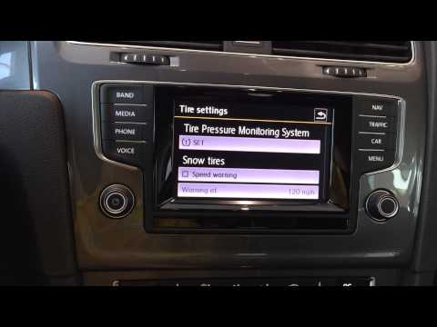 How to Reset the Tire Pressure Monitoring System in the 2015 VW Golf