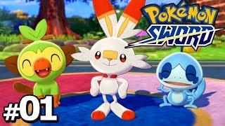 Pokemon Sword Part 1 WELCOME TO GALAR Gameplay Walkthrough Pokemon Sword & Shield
