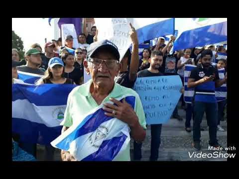 Jesús protege Nicaragua. Mov.19/04/2018 EPD compatriotas. Patria libre o morir. Erick Nicoya Plomo