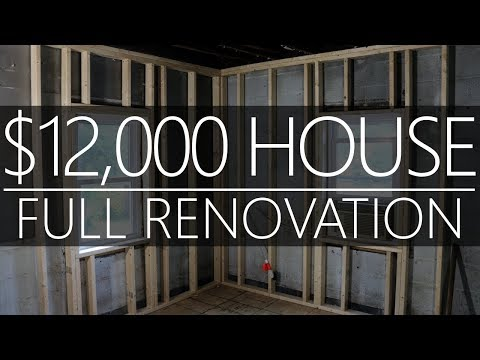 $12k CASH House!!! FRAMING WALLS - Full Renovation - #7