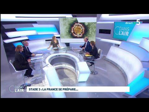 Coronavirus: la France se prépare au stade trois #cdanslair 05.03.2020