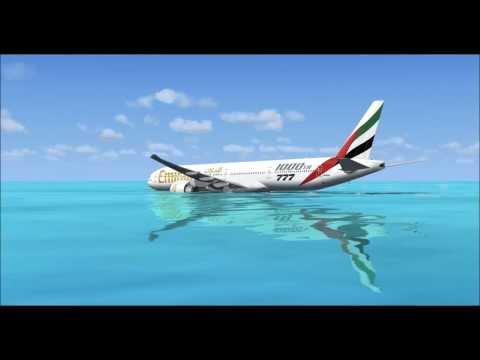 Emirates emergency water landing!
