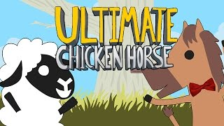 Ultimate Chicken Horse - ВЗРЫВ СМЕХА И БОЛИ