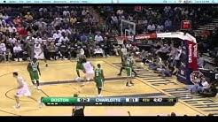 CHA baseline action- Henderson dunk on Dooling