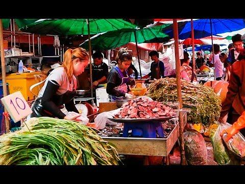 Khlong Toey Market - Bangkok, Thailand 2017