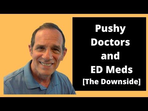 pushy-doctors-and-erectile-dysfunction-medication