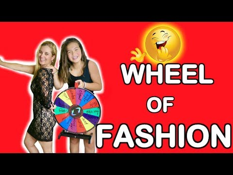 WHEEL OF FASHION CHALLENGE | FUNNY | IT'S ME ALI