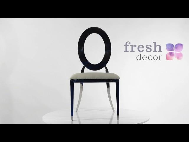 Серебряный металлический стул Лаваль ! Удобный и качественный стул для дома, ресторана и кафе.