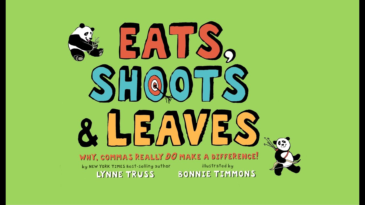 Front cover of Eats, shoots and leaves