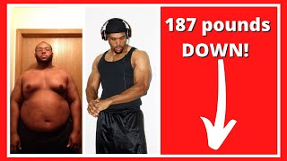 MY 187 POUND WEIGHT LOSS TRANSFORMATION- CHRISTIAN EVANS