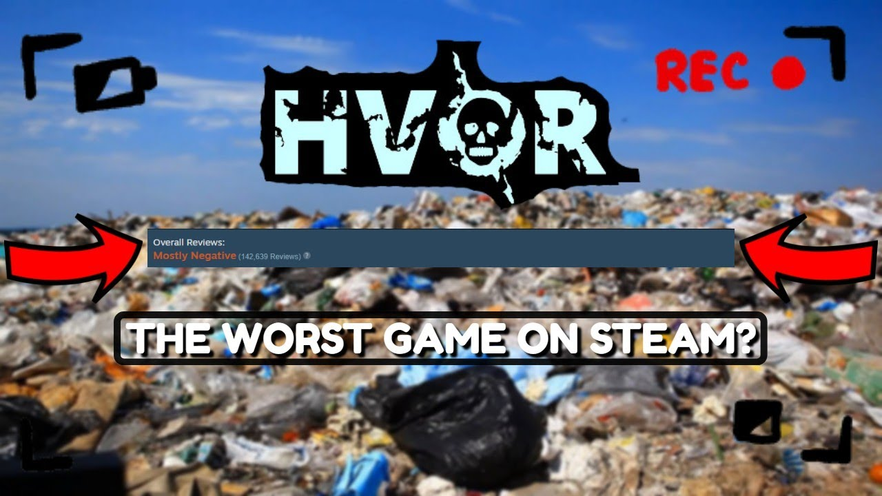 We played the worst game on Steam...