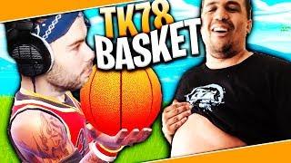 J'IMPRESSIONNE TK78 AVEC MON NEW BALLON DE BASKET !!
