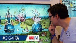 """Samsung """"The Frame""""-TV im Hands-On (deutsch): Ein Gemälde mit 8 Millionen Pixeln - GIGA.DE"""