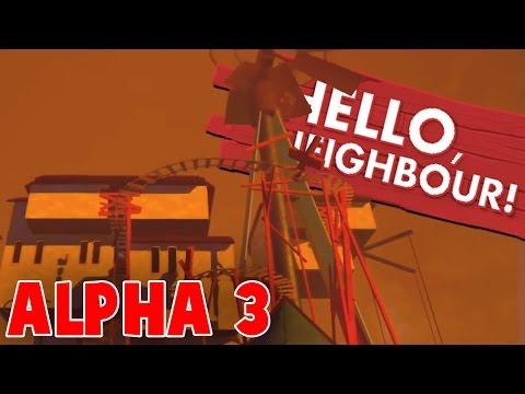NEW ALPHA 3 GAMEPLAY FOOTAGE | Hello Neighbor Alpha 3 Trailer (Hello Neighbour Alpha 3 Update)
