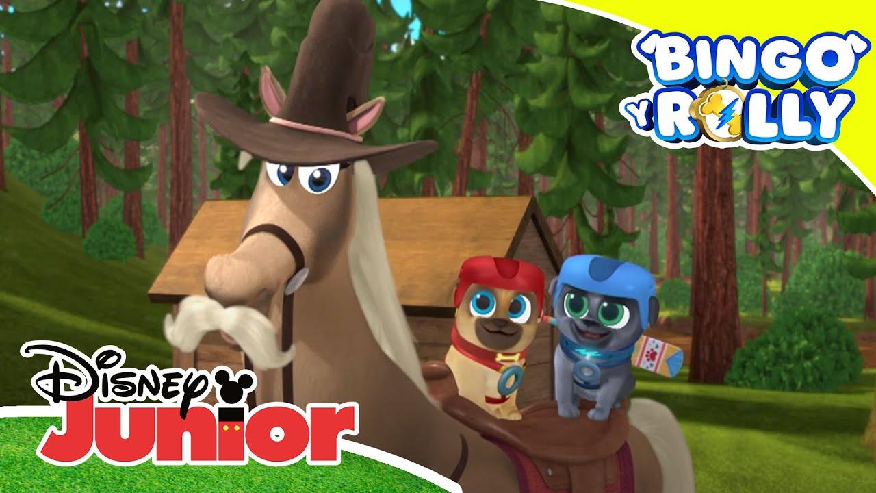Bingo y Rolly: A cabalgar   Disney Junior Oficial