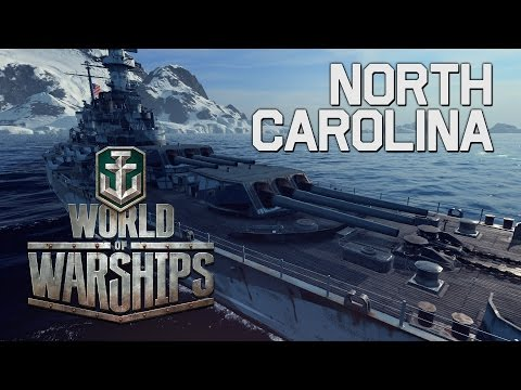 World of Warships - North Carolina 0.5.6