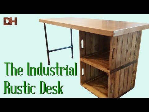 The Industrial Rustic Desk
