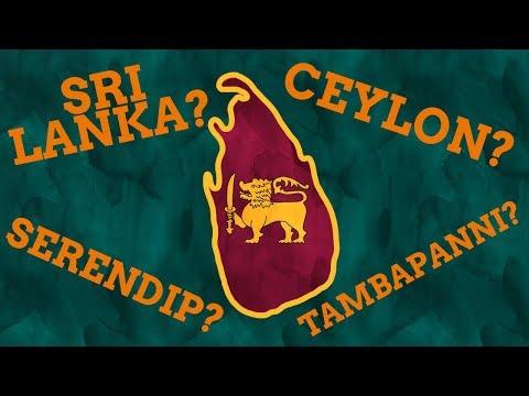 Why Has Sri Lanka Had So Many Names?