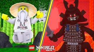 LEGO NINJAGO WARRIORS - LORD GARMADON EVIL LAIR! w/ Little Lizard