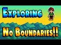 Exploring Outside The Map! Secret Skeleton Dialogue! - Stardew Valley