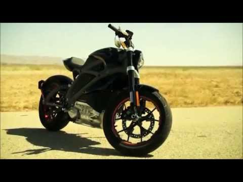 DRIVING 2015 Harley-Davidson LiveWire Project Electric Motorcycle 74 hp 70 Nm 92 mph 0-62 mph 4 s