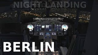 [FSX] Berlin NIGHT LANDING (ORBX GERMANY NORTH)