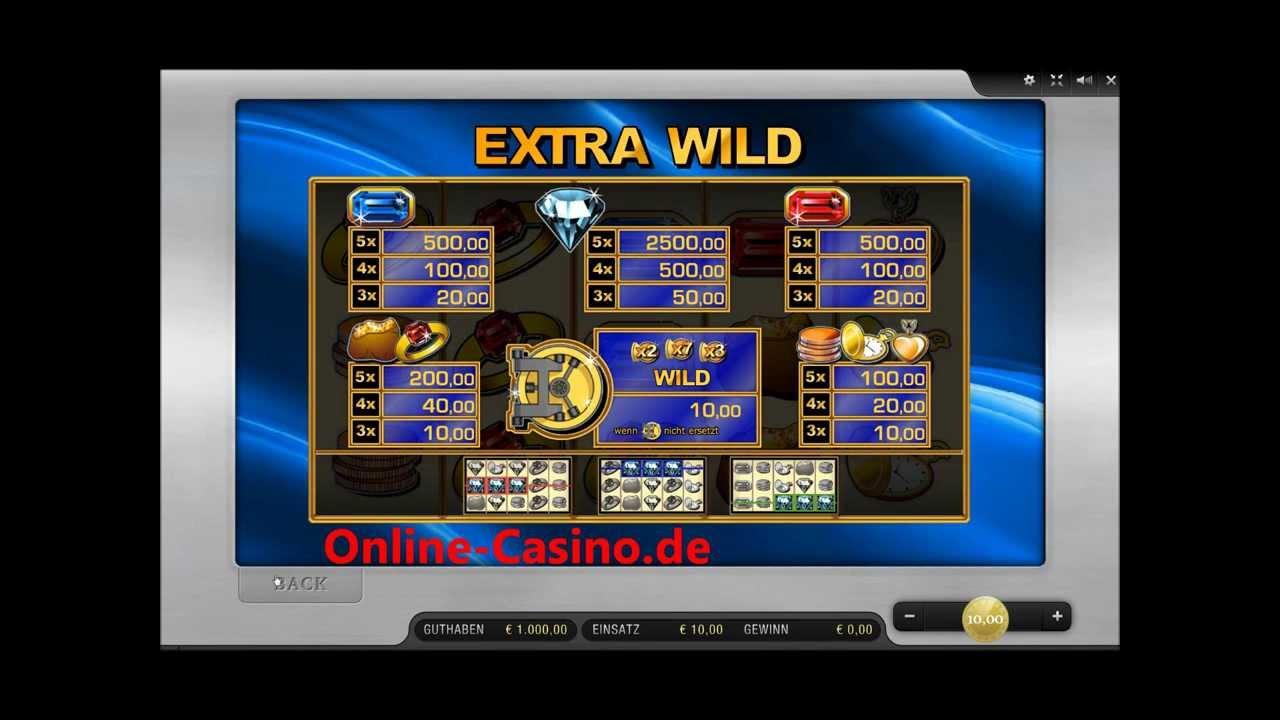Extra Wild Merkur Online Spielen