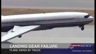 سيارة تنقذ طائرة ركاب