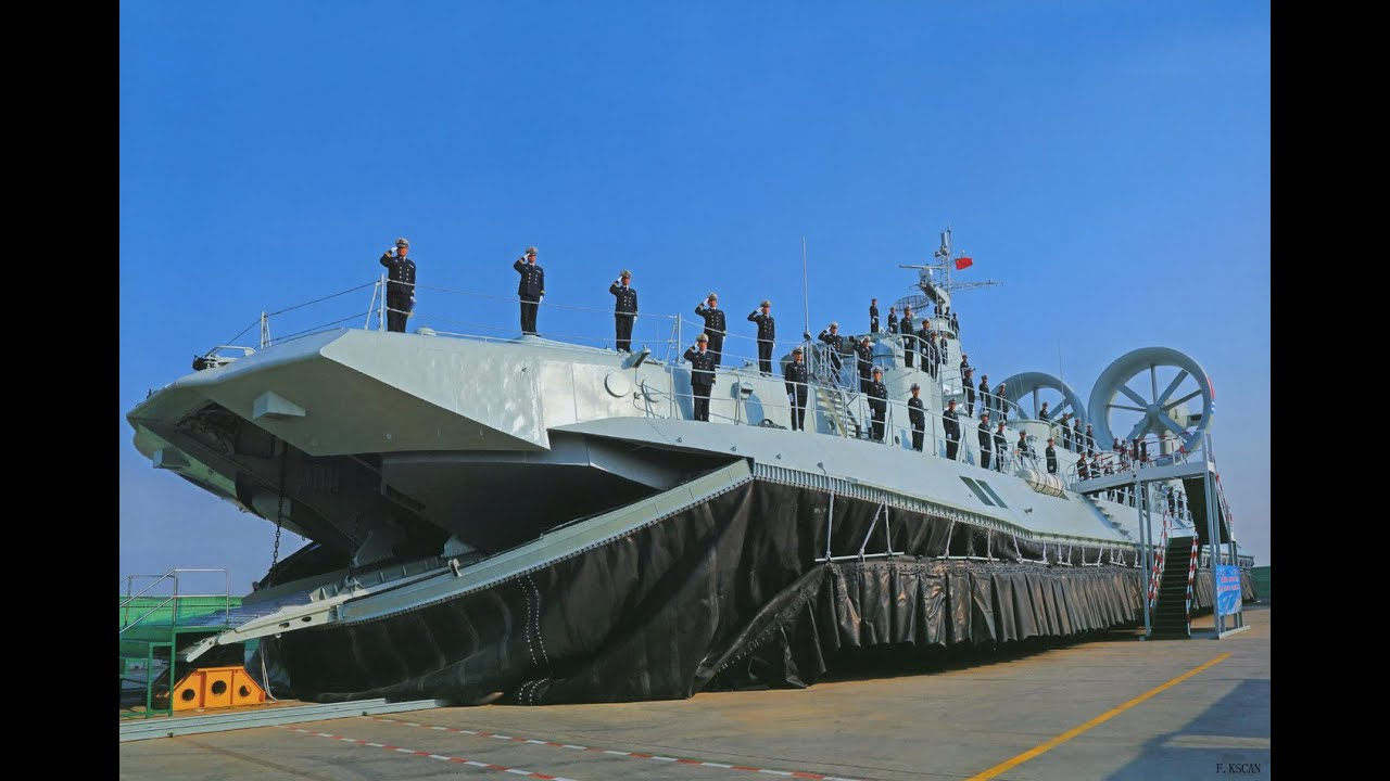 Chinese navy plan zubr hovercraft lcac youtube for How big is america