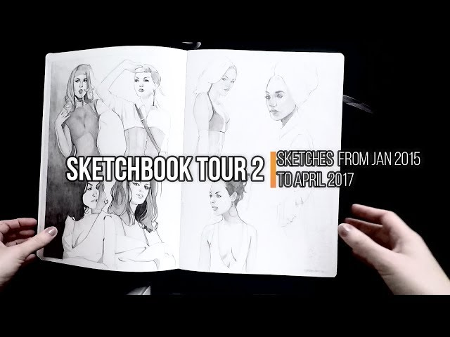 Sketchbook Tour vol.2 – more characters!