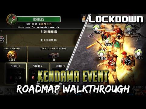 TWD RTS: Kendama Event Roadmap Walkthrough - The Walking Dead: Road To Survival
