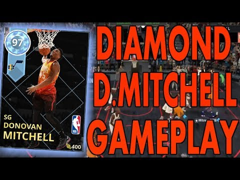 nba2k18-myteam-diamond-donovan-mitchell-gameplay!!!-100-dunking-stats-and-hof-posterizer-cheese!!!