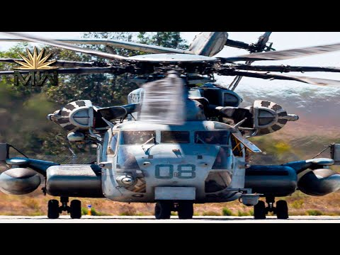 Sikorsky CH-53K King Stallion - US Heavy-Lift Cargo Helicopter [Review]