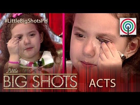 Little Big Shots Philippines: Jacey | 5-year-old Little Makeup Artist