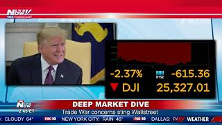 TRADE WAR: President Trump Says The Pressure Is On China