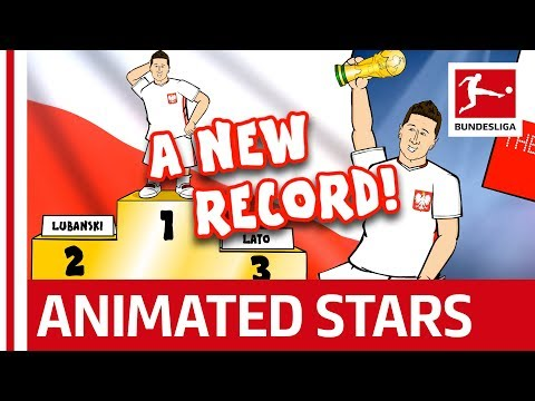 Lewandowski Song: Goal Machine, Graduate and Singer - Powered by 442oons