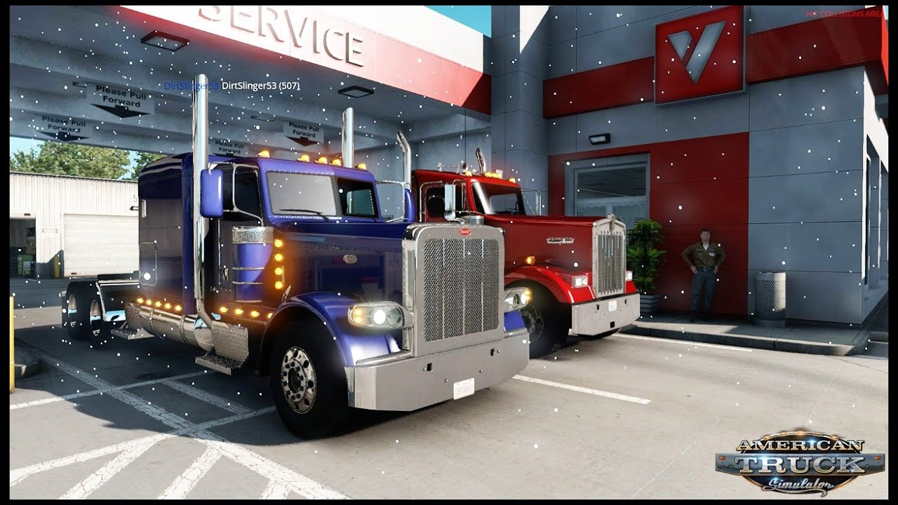 Download CONVOY TO SAN FRANCISCO WITH THE BOYS! - ATS MULTIPLAYER - LOGITECH G29 SIMULATOR